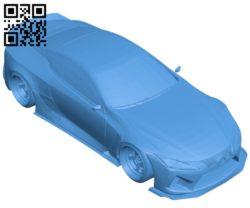Car lc 500 B007088 file stl free download 3D Model for CNC and 3d printer