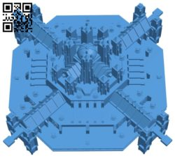 Castle shaped spaceships – house B007107 file stl free download 3D Model for CNC and 3d printer