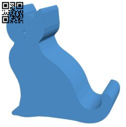 Cat – Smartphone B006878 file stl free download 3D Model for CNC and 3d printer