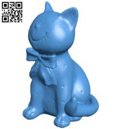 Ceramic cat B006698 file stl free download 3D Model for CNC and 3d printer