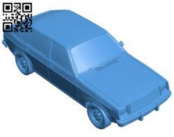Chevette car B006882 file stl free download 3D Model for CNC and 3d printer
