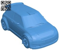 Chinese car B006718 file stl free download 3D Model for CNC and 3d printer