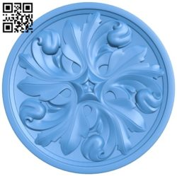 Circular disk pattern A004606 download free stl files 3d model for CNC wood carving