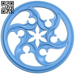Circular disk pattern A004612 download free stl files 3d model for CNC wood carving