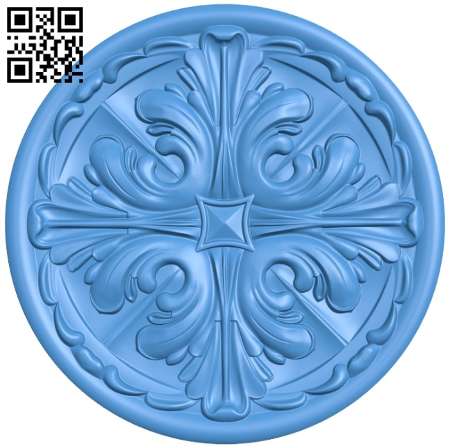 Circular disk pattern A004675 download free stl files 3d model for CNC wood carving