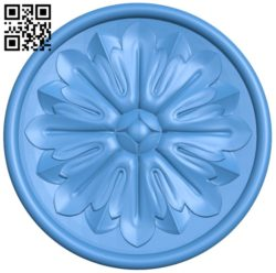 Circular disk pattern A004674 download free stl files 3d model for CNC wood carving