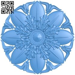 Circular disk pattern A004760 download free stl files 3d model for CNC wood carving