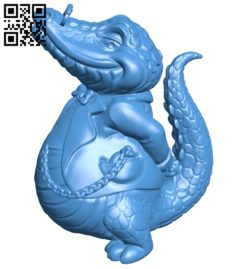 Croco boss B006956 file stl free download 3D Model for CNC and 3d printer