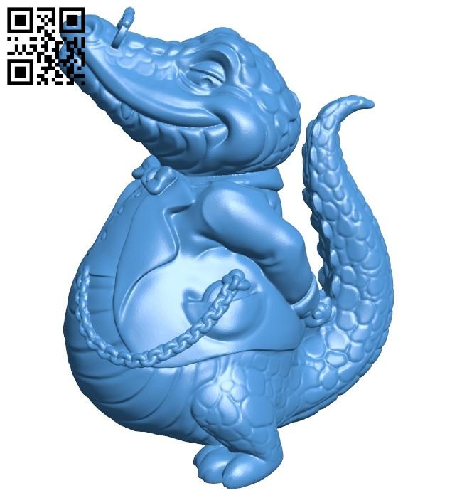 Croco boss B006956 file stl free download 3D Model for CNC and 3d printer