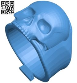Death ring B006637 file stl free download 3D Model for CNC and 3d printer