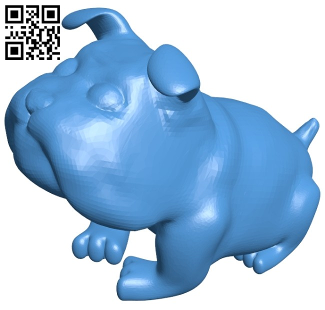 Dog B006921 file stl free download 3D Model for CNC and 3d printer