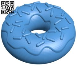 Donuts B007091 file stl free download 3D Model for CNC and 3d printer