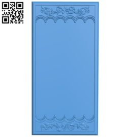 Door pattern design A004626 download free stl files 3d model for CNC wood carving