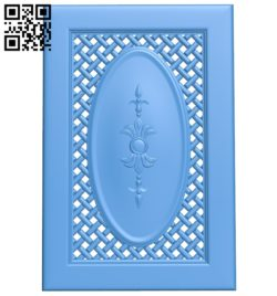 Door pattern design A004708 download free stl files 3d model for CNC wood carving