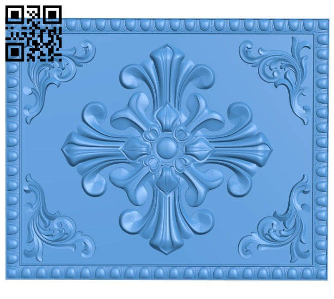 Door pattern design A004709 download free stl files 3d model for CNC wood carving