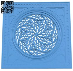 Door pattern design A004714 download free stl files 3d model for CNC wood carving