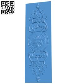 Door pattern design A004744 download free stl files 3d model for CNC wood carving