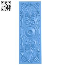 Door pattern design A004774 download free stl files 3d model for CNC wood carving