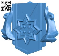 Dota 2 Keychain Archon Rank with logo B007059 file stl free download 3D Model for CNC and 3d printer