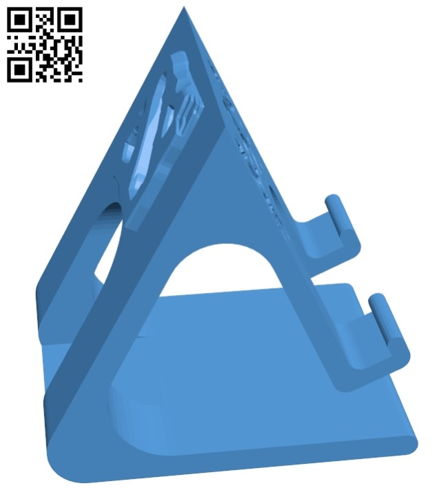 Dota 2 Phone Stand B007086 file stl free download 3D Model for CNC and 3d printer
