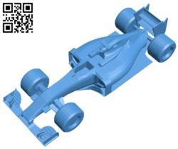 F1 car B006803 file stl free download 3D Model for CNC and 3d printer
