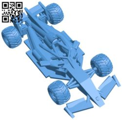 F1 offroad car B006813 file stl free download 3D Model for CNC and 3d printer