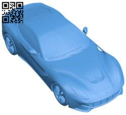 Ferrari F12 car B006699 file stl free download 3D Model for CNC and 3d printer