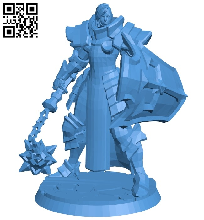 Flail B006906 file stl free download 3D Model for CNC and 3d printer