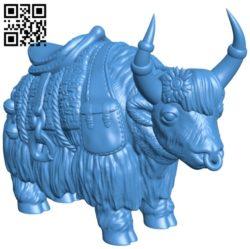 Gaur in Spain B007040 file stl free download 3D Model for CNC and 3d printer