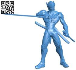 Genji B006963 file stl free download 3D Model for CNC and 3d printer
