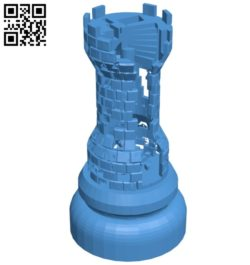 Got Rook B007007 file stl free download 3D Model for CNC and 3d printer