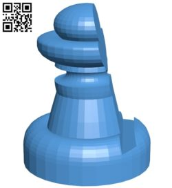 Got pawn – Chess B007006 file stl free download 3D Model for CNC and 3d printer