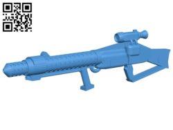 Gun FWMB B006660 file stl free download 3D Model for CNC and 3d printer