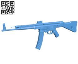 Gun ak 47 B006848 file stl free download 3D Model for CNC and 3d printer