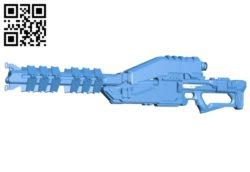 Gun ice breaker B006865 file stl free download 3D Model for CNC and 3d printer