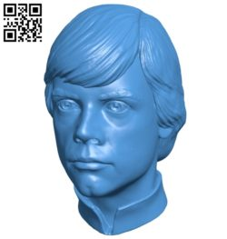 Head Luke B006915 file stl free download 3D Model for CNC and 3d printer