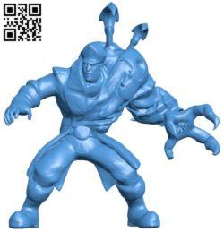 Hots stukov man B006754 file stl free download 3D Model for CNC and 3d printer