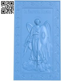 Icon of Michael A004700 download free stl files 3d model for CNC wood carving