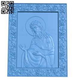 Icon of the Incombustible Kupina A004638 download free stl files 3d model for CNC wood carving
