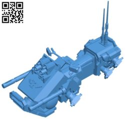 Jetbike ship B006790 file stl free download 3D Model for CNC and 3d printer