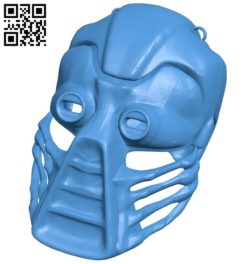 Kabal Mask B006707 file stl free download 3D Model for CNC and 3d printer