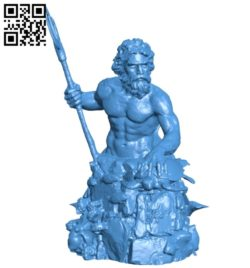 King Neptune B006836 file stl free download 3D Model for CNC and 3d printer