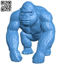 King kong B006800 file stl free download 3D Model for CNC and 3d printer