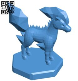 Knight Ponyta – pokemon B006762 file stl free download 3D Model for CNC and 3d printer