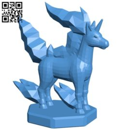 Knight Rapidash – pokemon B006763 file stl free download 3D Model for CNC and 3d printer