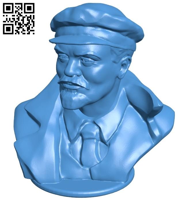 Lenin B006931 file stl free download 3D Model for CNC and 3d printer