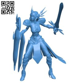 Leona B007094 file stl free download 3D Model for CNC and 3d printer