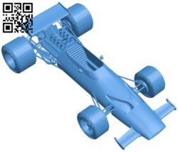 Mclaren M7A Car B006807 file stl free download 3D Model for CNC and 3d printer