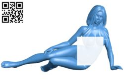 Miss Athena B006883 file stl free download 3D Model for CNC and 3d printer