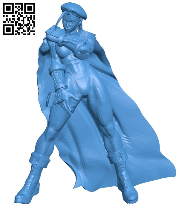 Miss Cammy sf5 B006924 file stl free download 3D Model for CNC and 3d printer